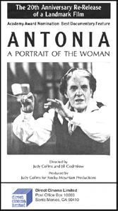 Antonia: A Portrait of the Woman (DVD)