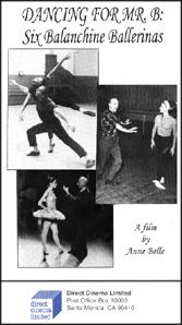 Dancing for Mr. B