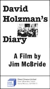 David Holzman's Diary (16mm)