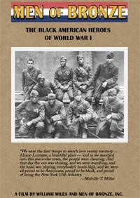 Men of Bronze: The Black American Heroes of World War I (DVD)